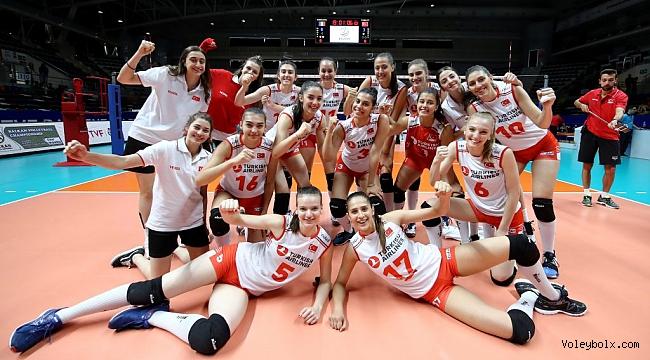 U19 Genç Kız Milli Takımımız, Balkan Şampiyonası'nda Yarı Finalde