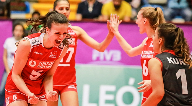 U20 Genç Kız Milli Takımımız, Dünya Şampiyonası'na Galibiyetle Başladı
