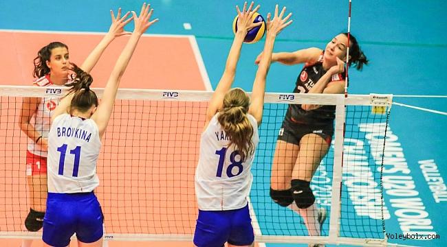 U20 Genç Kız Milli Takımımız, Rusya'ya 3-2 Mağlup Oldu