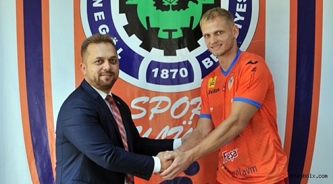 Aleksandr Kovalev ile sözleşme imzalandı