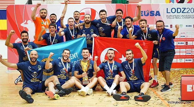 Beykent Şampiyon, İst. Aydın Üniversitesi Avrupa İkincisi