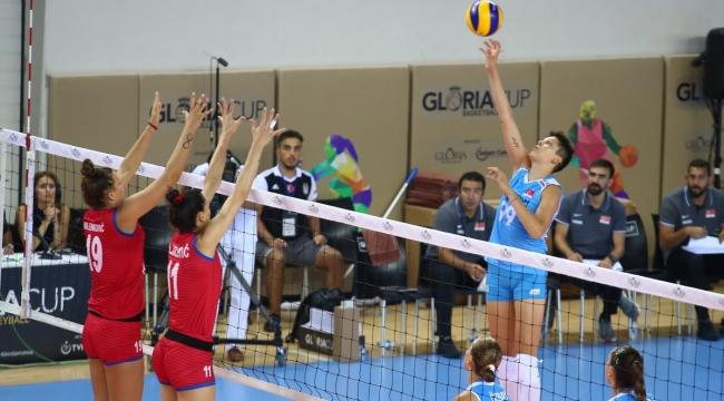 Filenin Sultanları, Gloria Cup'ta Sırbistan'a 3-2 Mağlup Oldu