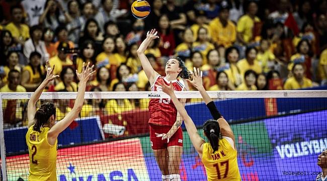 Filenin Sultanları, Olimpiyat Elemeleri'nde Çin'e 3-0 Mağlup Oldu