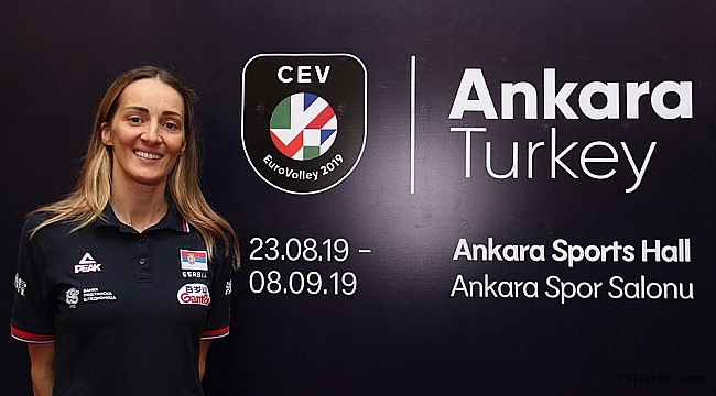 """Maja Ognjenovic: """"Bir final olacaksa Türkiye ile oynamayı tercih ederiz"""""""