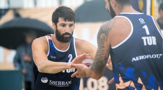 Murat ve Volkan İkilisi, Avrupa Şampiyonası'na Veda Etti