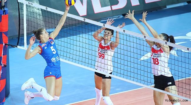 Sırbista'na 3-1 kaybeden Sultanlar, Avrupa Şampiyonası'nda son 16'da