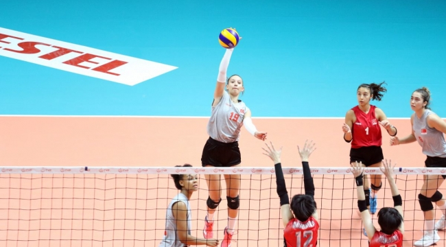 U18 Genç Kız Milli Takımımız, Hazırlık Maçında Japonya ile Karşılaştı