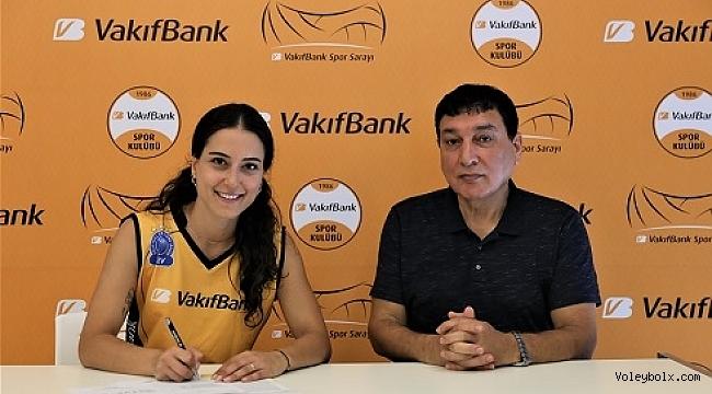 Vakıfbank Pınar Eren Atasever transferini duyurdu
