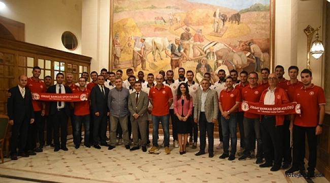 Ziraat Bankası Spor Kulübü, akşam yemeğinde bir araya geldi