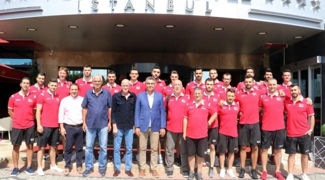 A Milli Erkekler, Avrupa Şampiyonası İçin Slovenya'ya Gitti