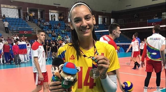 Alexia Ioana Carutasu Yeşilyurt'ta