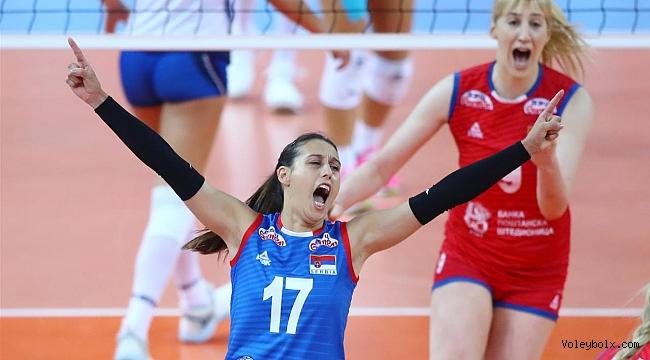 Avrupa Şampiyonası'nda ilk finalist Sırbistan!