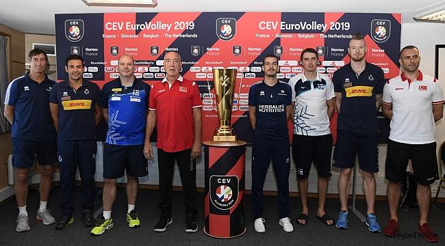 Avrupa Voleybol Şampiyonası Son 16 Turu'nun Medya Günü Yapıldı