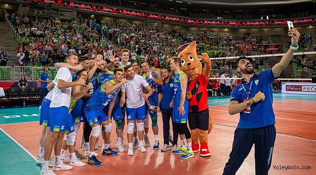 Erkekler Avrupa Şampiyonası'nda 1. günün ardından...