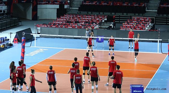 Filenin Sultanları, Hollanda maçına hazırlanıyor