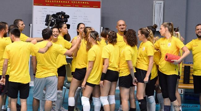 Galatsaray Kadın Takımı yeni sezon hazırlıklarını sürdürüyor