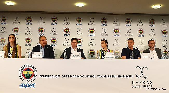 Kafkas Mücevherat, Fenerbahçe Opet'in forma sponsoru oldu