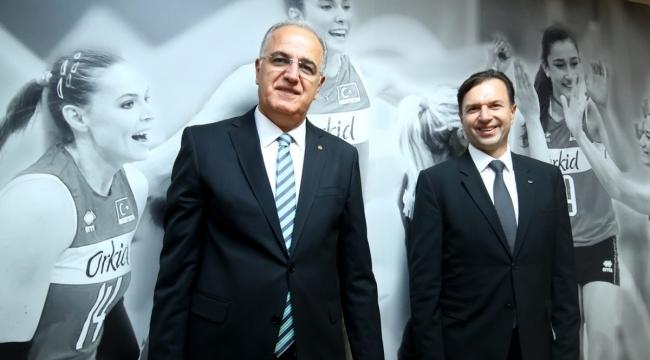 P&G Türkiye ve Kafkasya Yönetim Kurulu Başkanı Tankut Turnaoğlu, TVF Başkanı Üstündağ'ı Ziyaret Etti