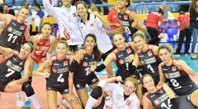 U18 Genç Kız Milli Takımımız, Dünya Şampiyonası'nı 9. Sırada Tamamladı