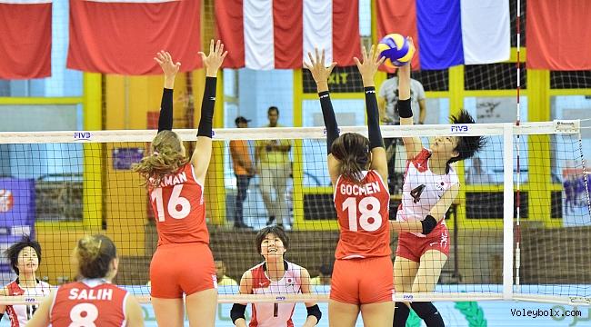 U18'ler Dünya Şampiyonası'nda Japonya'ya 3-2 Mağlup Oldu