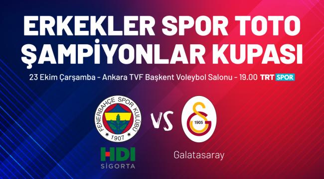 2019 Spor Toto Erkekler Şampiyonlar Kupası Ankara'da Oynanacak