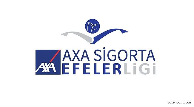 AXA Sigorta Efeler Ligi'nde 5 Haftalık Maç Programı Açıklandı