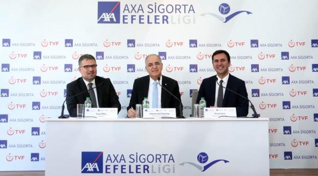 AXA Sigorta, Efeler Ligi'nin Resmi İsim Sponsoru Oldu