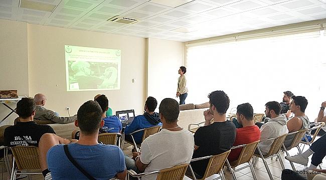 Büyükşehir Belediyespor Kulübü'nde yeni kurallar anlatıldı