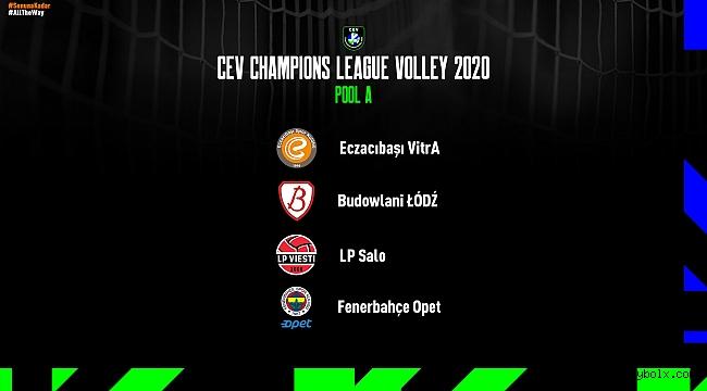 Eczacıbaşı VitrA'nın CEV Şampiyonlar Ligi'ndeki rakipleri belli oldu