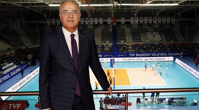 TVF Başkanı Mehmet Akif Üstündağ'dan Kulüplerimize Tebrik Mesajı