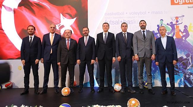 Üstündağ, Türkiye Öğretmenler Kupası'nın Tanıtım Toplantısına Katıldı