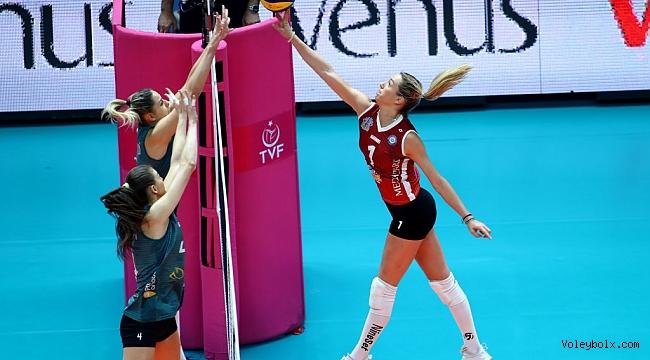 Vestel Venus Sultanlar Ligi'nde 4. Hafta Sona Erdi