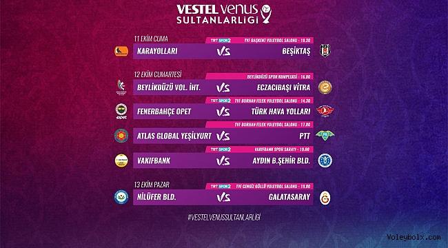 Vestel Venus Sultanlar Ligi'nde Heyecan Başlıyor