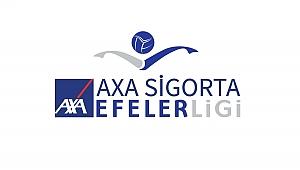 AXA Sigorta Efeler Ligi'nde 10 ve 11. Haftanın Maç Programı Açıklandı