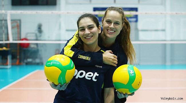 Aylin Sarıoğlu ve Kelsey Robinson'dan Lodz Maçı Öncesi Açıklamalar