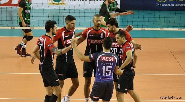 Brezilya'da haftanın son maçını Sesi SP 3-0 kazandı