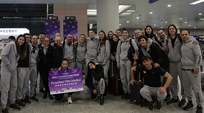 Eczacıbaşı VitrA, Dünya Kulüpler Şampiyonası için Çin'de