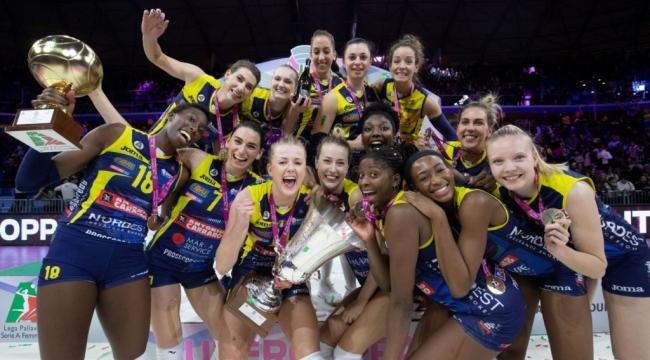Imoco Volley, Süper Kupa'nın sahibi