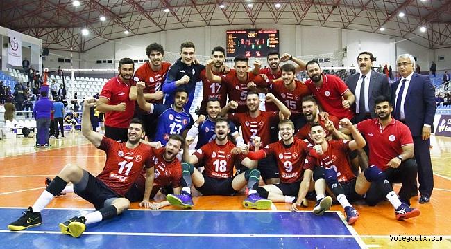 Tokat, Challenge Kupası'nda Kazincbarcika'yı 3-0 Mağlup Etti