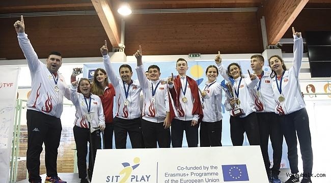 Türkiye, Erasmus+ Sit2Play Uluslararası Turnuvası'nda Namağlup Şampiyon