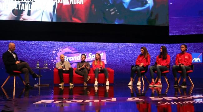 U16 Küçük Kız Milli Takımı Oyuncuları, Brand Sport & Summit'te Başarı Hikayelerini Anlattı