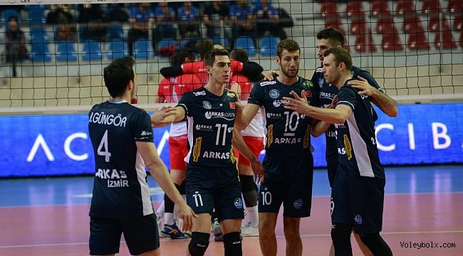 Arkas Spor, CEV Kupası'nda Adını Son 16 Takım Arasına Yazdırdı