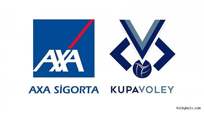 AXA Sigorta Kupa Voley Erkekler Kategorisi 1.Etap Karşılaşmalarının Maç Programı Belli Oldu