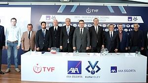 AXA Sigorta Kupa Voley Erkekler Kategorisinde 1.Etap Eşleşmeleri Belli Oldu
