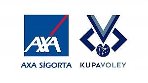 AXA Sigorta Kupa Voley Kadınlar Kategorisi 1.Etap Rövanş Karşılaşmaları Başlıyor
