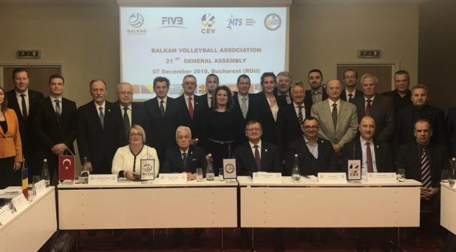 Balkan Voleybol Birliği 21. Genel Kurul Toplantısı Romanya'da Yapıldı