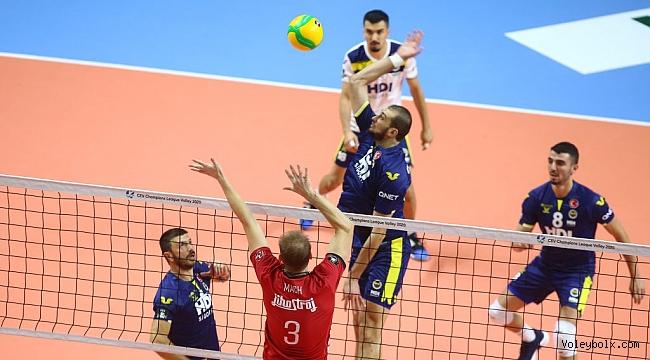 Fenerbahçe HDI Sigorta, Ceske Budejovice'ye 3-2 Mağlup Oldu
