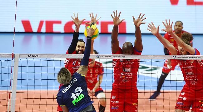 Fenerbahçe HDI Sigorta, Lube Civitanova'ya 3-1 Mağlup Oldu