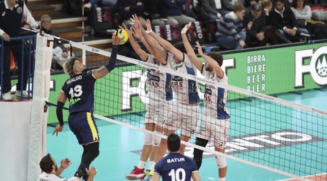 Fenerbahçe HDI Sigorta, Trentino'ya 3-2 Mağlup Oldu