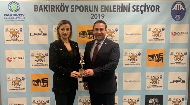 Filenin Sultanları, Sporun Enleri 2019'da Yılın Voleybol Takımı Seçildi